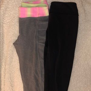 Other - 2 cropped ivivva leggings- total $14